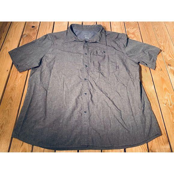 Merrell Other - Merrell Men's Button Down Short Sleeve Shirt XXL